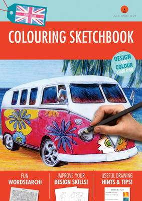 Art Colouring Sketchbook: For Girls: 1 (Paperback)
