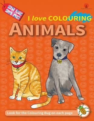 I Love Colouring: Animals: 5: Winter (Paperback)