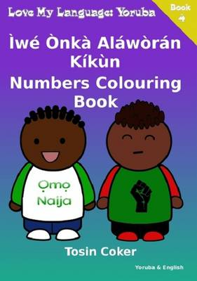 Numbers Colouring Book (Paperback)