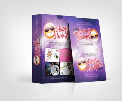 Happy Thoughts: Deck 4: Lateral Thinking Edification Playing Cards (Paperback)