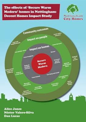 The Effects of Secure Warm Modern Homes in Nottingham: Decent Homes Impact Study (Paperback)