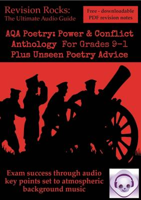 New GCSE English Literature AQA Poetry Guide: Power & Conflict Anthology for Grades 9-1. Plus Unseen Poetry Advice (Paperback)