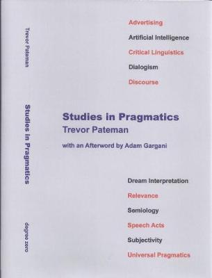 Studies in Pragmatics (Hardback)