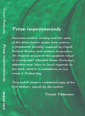 Prose Improvements (Hardback)