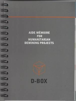 Aide Memoire for Humanitarian Demining Projects (Paperback)