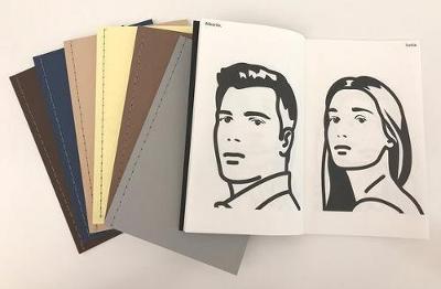 Julian Opie: 7 Sketchbooks 2018: Bk 1: Buildings, Bk 2: Heads 1, Bk 3: Heads 2, Bk 4: Heads 3, Bk 5: Animals, Bk 6: Walking in New York, Bk 7: Walking in Melbourne (Paperback)