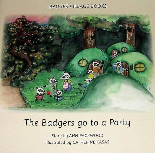 Badger Village Books: The Badgers Go to a Party (Paperback)