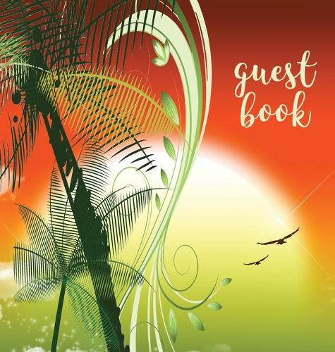 Guest Book (Hardback), Visitors Book, Guest Comments Book, Vacation Home Guest Book, Beach House Guest Book, Visitor Comments Book, House Guest Book: Comments Book Suitable for Vacation Homes, Beach House, B&bs, Airbnbs, Guest House, Parties, Events & Functions (Hardback)