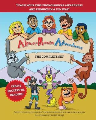 Alpha-Mania Adventures: The Complete Set (Paperback)