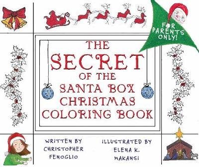 The Secret of the Santa Box Christmas Coloring Book (Paperback)