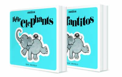 Little Elephants / Elefantitos: A bilingual lift-the-flap book (Board book)