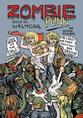Zombie Punk: No.1-The Curtain Falls (Paperback)