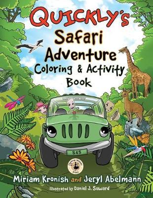 Quickly's Safari Adventure Coloring & Activity Book (Paperback)