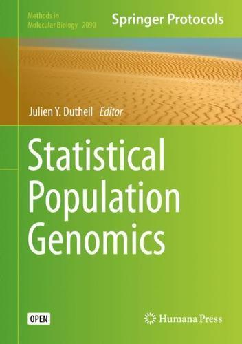 Statistical Population Genomics - Methods in Molecular Biology 2090 (Hardback)