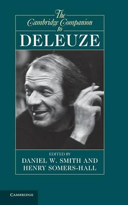 The Cambridge Companion to Deleuze - Cambridge Companions to Philosophy (Hardback)