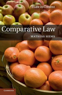 Comparative Law - Law in Context (Hardback)
