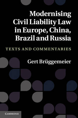 Modernising Civil Liability Law in Europe, China, Brazil and Russia: Texts and Commentaries (Hardback)