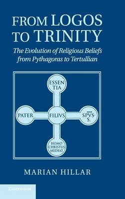 From Logos to Trinity: The Evolution of Religious Beliefs from Pythagoras to Tertullian (Hardback)