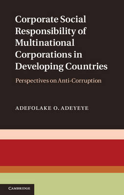 Corporate Social Responsibility of Multinational Corporations in Developing Countries: Perspectives on Anti-Corruption (Hardback)