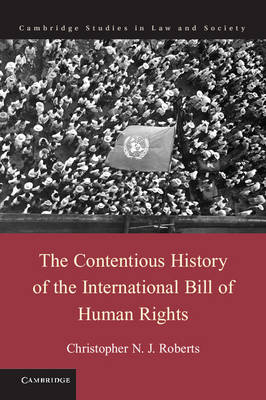 The Contentious History of the International Bill of Human Rights - Cambridge Studies in Law and Society (Hardback)