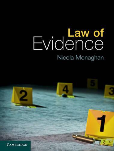 Law of Evidence (Hardback)