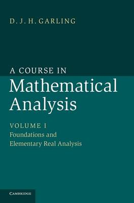 A Course in Mathematical Analysis - A Course in Mathematical Analysis 3 Volume Set (Hardback)