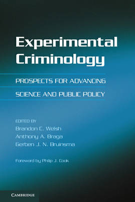 Experimental Criminology: Prospects for Advancing Science and Public Policy (Hardback)
