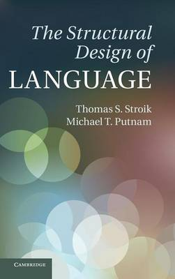 The Structural Design of Language (Hardback)