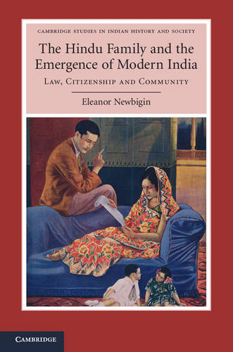 Cambridge Studies in Indian History and Society: The Hindu Family and the Emergence of Modern India: Law, Citizenship and Community Series Number 22 (Hardback)