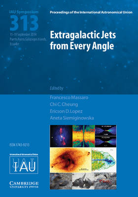 Extragalactic Jets from Every Angle (IAU S313) - Proceedings of the International Astronomical Union Symposia and Colloquia (Hardback)