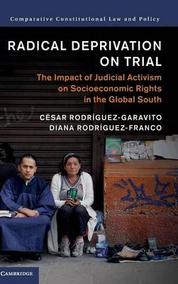 Radical Deprivation on Trial: The Impact of Judicial Activism on Socioeconomic Rights in the Global South - Comparative Constitutional Law and Policy (Hardback)