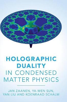 Holographic Duality in Condensed Matter Physics (Hardback)