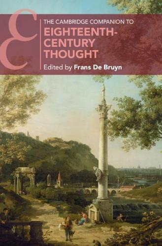 The Cambridge Companion to Eighteenth-Century Thought - Cambridge Companions to Literature (Hardback)