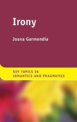 Irony - Key Topics in Semantics and Pragmatics (Hardback)