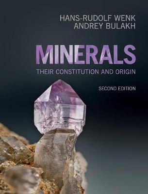 Minerals: Their Constitution and Origin (Hardback)