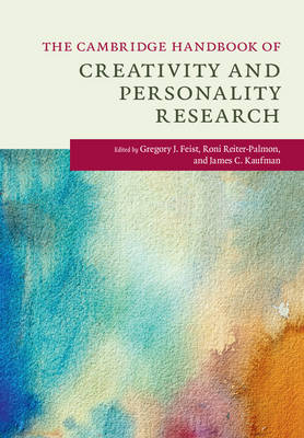 The Cambridge Handbook of Creativity and Personality Research - Cambridge Handbooks in Psychology (Hardback)