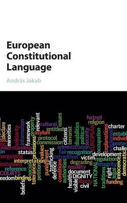 European Constitutional Language (Hardback)