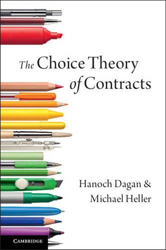 The Choice Theory of Contracts (Hardback)