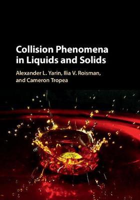 Collision Phenomena in Liquids and Solids (Hardback)