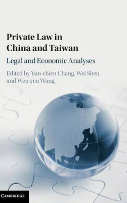 Private Law in China and Taiwan: Legal and Economic Analyses (Hardback)