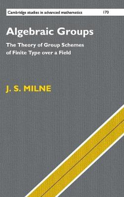 Algebraic Groups: The Theory of Group Schemes of Finite Type over a Field - Cambridge Studies in Advanced Mathematics 170 (Hardback)