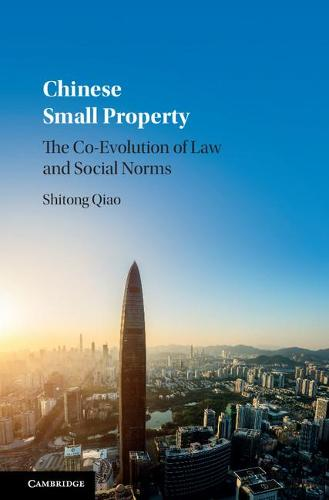 Chinese Small Property: The Co-Evolution of Law and Social Norms (Hardback)