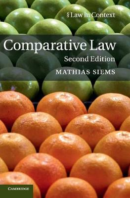 Law in Context: Comparative Law (Hardback)