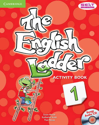 The English Ladder Level 1 Activity Book with Songs Audio CD
