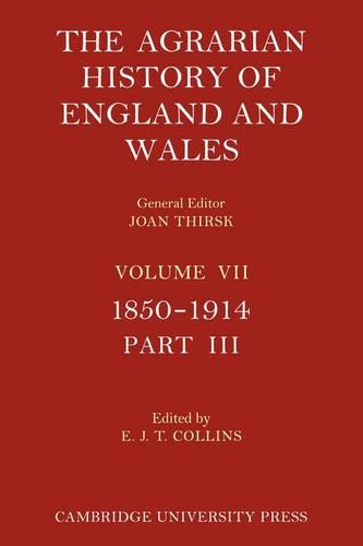The Agrarian History of England and Wales - Agrarian History of England and Wales (Paperback)