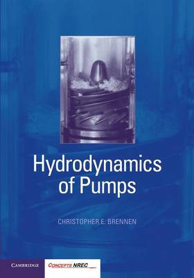 Hydrodynamics of Pumps (Paperback)