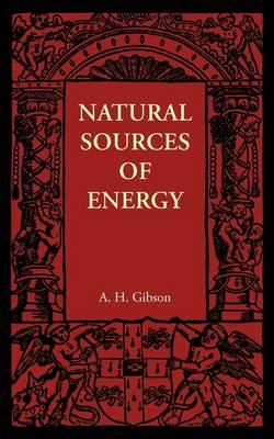Natural Sources of Energy (Paperback)