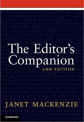 The Editor's Companion (Paperback)