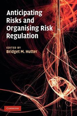 Anticipating Risks and Organising Risk Regulation (Paperback)