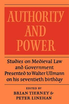 Authority and Power (Paperback)